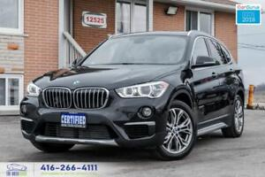 2016 BMW X1 xDrive28i PanoRoof Rear-Cam No Accidents Certified