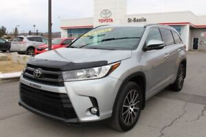 2017 Toyota Highlander SE CUIR TOIT MAGS GPS SIEGES CHAUFFANTS