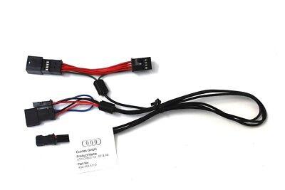 GENUINE Audi Q7 A8 Universal Traffic Recorder wiring loom harness set 4G0063511D