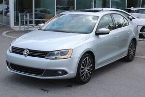 2013 Volkswagen Jetta 2.5*HIGHLINE*BLUETOOTH*CUIR*TOIT*AC*SIEGES
