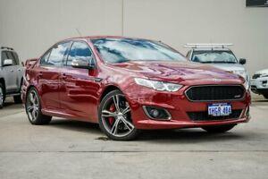 2015 Ford Falcon FG X XR8 Red 6 Speed Sports Automatic Sedan