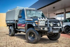 2012 Toyota Landcruiser VDJ79R MY10 GXL Grey 5 Speed Manual Cab Chassis