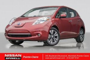 2015 Nissan Leaf SV NAVIGATION QUICK CHARGE / 4000$ GOUV REBATE