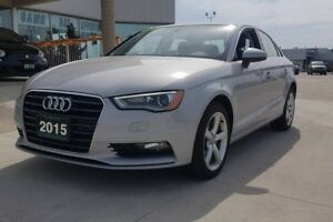2015 Audi A3 TDI / LEATHER / NO PAYMENTS FOR 6 MONTHS !!1