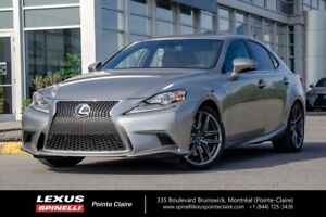 2016 Lexus IS 300 F-SPORT SERIE 2, NAVI, NEW BRAKE FRONT AND BAC