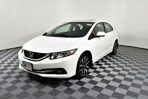 2014 Honda Civic Sedan TOURING. Leather. Sunroof. leather