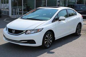 2014 Honda Civic EX*AC*BLUETOOTH*CRUISE*CAM*SIEGES CHAUFF*GR ELE