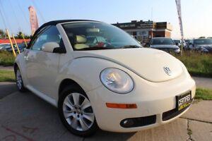 2010 Volkswagen Beetle Cabriolet Comfortline-Clean History/Leath