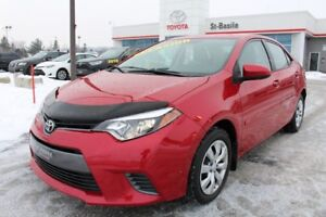 2015 Toyota Corolla LE BLUETOOTH SIEGES CHAUFFANTS CAMERA RECUL