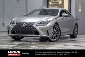 2015 Lexus RC 350 F SPORT I AWD; CUIR TOIT GPS ANGLES MORTS LOW