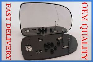 VAUXHALL CORSA C SXI 2000-2006 WING  MIRROR GLASS ELECTRIC/HEATED CONVEX RIGHT