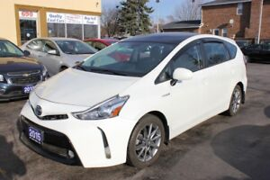 2015 Toyota Prius v Luxury Technology Pkg Panorama Roof