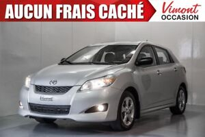 2012 Toyota Matrix 2012+TOURING+TOIT+MAGS+A/C+GR ELEC COMPLET ON