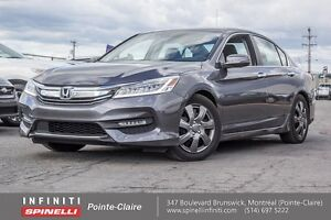 "2016 Honda Accord Sedan Touring NAVI BLINDSPOT 19"""" MAGS LOW KM"