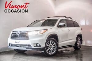 2015 Toyota Highlander XLE V6 AWD CUIR TOIT MAGS LOW MILEAGE NEV