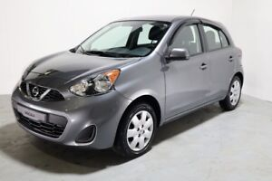 2016 Nissan Micra SV MANUAL + WINTER TIRES INCLUDED