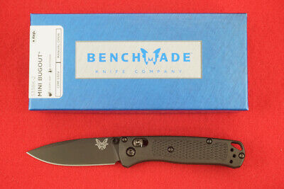 BENCHMADE 533BK-2 MINI BUGOUT CPM-S30V BLACK BLADE & BLACK HANDLE KNIFE