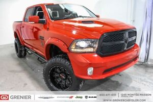 2018 Ram 1500 LIFTED+7'' TOTAL+PNEUS 35''+CREW LIFTED+7'' TOTAL+