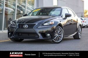 2016 Lexus IS 300 AWD, PREMIUM, LEATHER, ROOF, BACK UP CAMERA LO