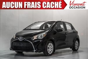 2015 Toyota Yaris HB+LE+A/C+GR ELEC COMPLET+BLUETOOTH ONE OWNER