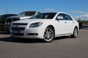 2011 Chevrolet Malibu LTZ ONE OWNER! NO ACCIDENTS! LEATHER! SUNROOF!