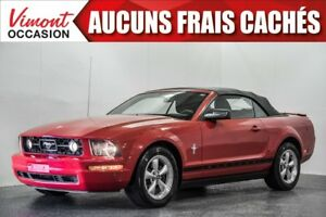 2008 Ford Mustang 2008+CONVERTIBLE+V6+A/C+AUTOMATIQUE+ ACCIDENT