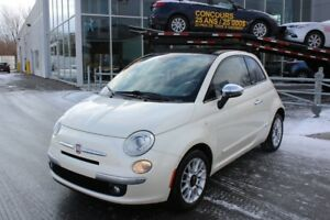 2012 Fiat 500C LOUNGE*BLUETOOTH*CRUISE*AC*BOSE*DECAPOTABLE*