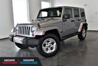 2013 Jeep Wrangler Unlimited SAHARA UNLIMITED +2 TOITS SAHARA UN