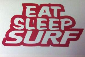 EAT-SLEEP-SURF-STICKER-SURFBOARD-SEA-WATER-SPORT-WET-SUIT