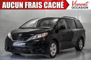 2016 Toyota Sienna 2016+LE+CAMERA RECUL+CONSOLE+MAGS+FOGS+8 PASS