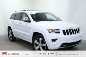 2015 Jeep Grand Cherokee OVERLAND+4X4+TOIT PANO+CUIR OVERLAND+4X