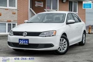 2011 Volkswagen Jetta AUTO ALLOYS NEW TIRES CERTIFIED SPOTLESS S