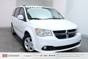 2017 Dodge Grand Caravan CREW PLUS+CUIR+DVD+NAV CREW PLUS+CUIR+D