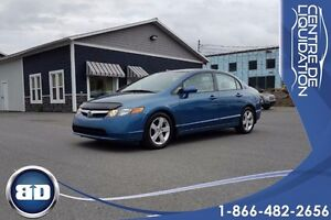 2008 Honda Civic Sdn LX 112395 KM ! AUTOMATIQUE A/C