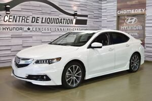 2015 Acura TLX ELITE+AWD+GPS+LUNCH KIT AERO PACK+CUIR+V6+TOIT OU