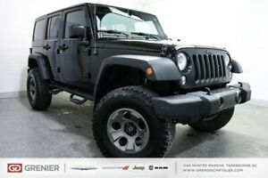 2016 Jeep Wrangler UNLIMITED+LIFTER+2 TOITS UNLIMITED+LIFTER+2 T