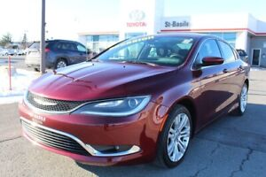 2016 Chrysler 200 MAGS GPS BLUETOOTH CAMERA RECUL SIEGES CHAUFFA