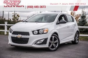 2014 Chevrolet Sonic RS CUIR TOIT CAMÉRA BLUETOOTH A/C LESS EXPE