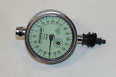 New Mahr Federal Usa Made Waterproof 0.05 Range Dial Indicator. 0.0005 Grad
