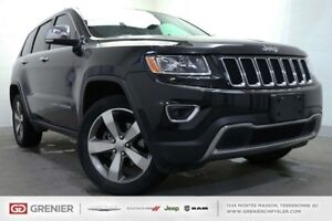 2016 Jeep Grand Cherokee LIMITED+4X4+CUIR+TOIT OUVRANT LIMITED+4