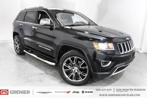 2014 Jeep Grand Cherokee Limited*CUIR*TOIT*MAGS SRT-8*WOW!