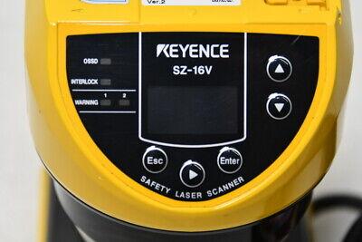KEYENCE SZ-16V SAFETY LASER SCANNER SENSOR  Free FedEx, DHL or EMS