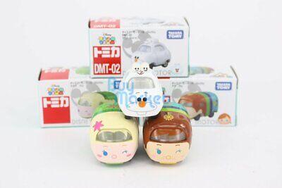 Takara Tomy Disney Motors TSUM TSUM Snow Princess Wink 3X SET Diecast Toys  Car