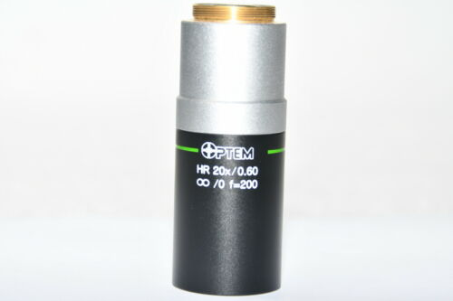 Optem  Objective Lens HR  20X / 0.60  ∞/0  f=200