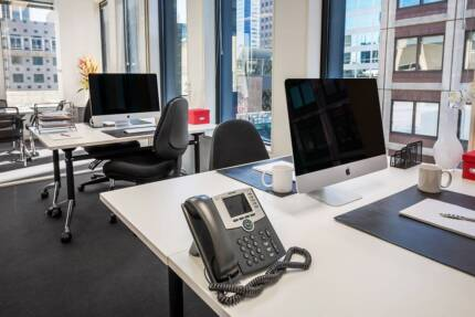 Spacious Serviced Office Solution on Collins Street!