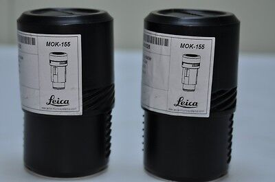 LEICA 40X/6 MICROSCOPE EYEPIECE, LOT OF 2, NEW