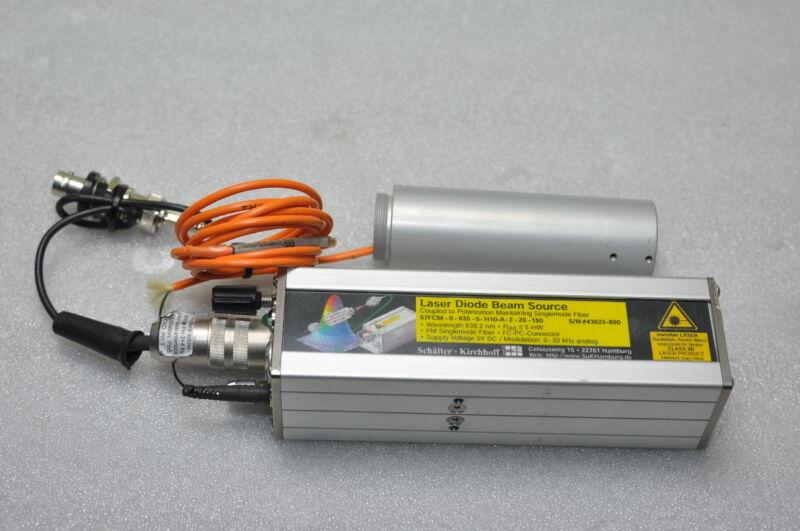 Schafter + Kirchhoff Laser Diode Beam Source 57FCM , w/Head