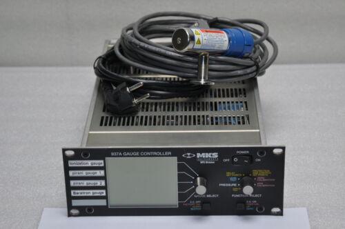 MKS VACUUM GAUGE CONTROLLER 937A + GRANVILLE PHILLIPS CONVECTRON GAUGE 275203