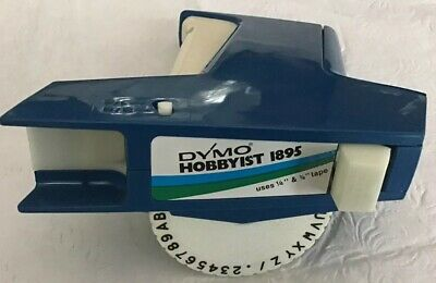 Dymo Hobbyist 1895 Hand Held Label Printer With Label Tape