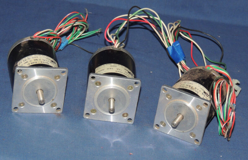 lot of 3, Applied Motion Products 5023-024D stepper motors